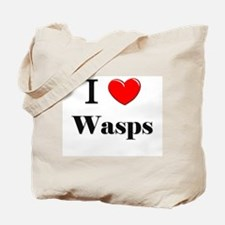 I Love Wasps Tote Bag