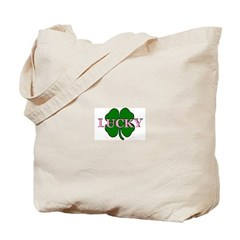 LUCKY CLOVER Tote Bag