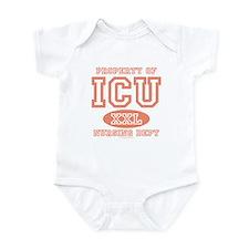 Property Of ICU Nursing Dept Nurse Infant Bodysuit