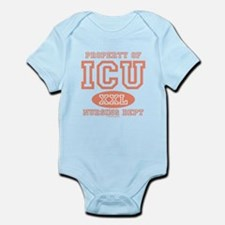 Property Of ICU Nursing Dept Nurse Infant Bodysuit
