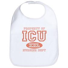 Property Of ICU Nursing Dept Nurse Bib