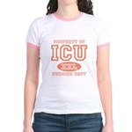 Property Of ICU Nursing Dept Nurse Ringer T-Shirt