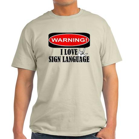 I love ASL Light T-Shirt