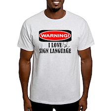 I love ASL T-Shirt