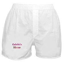 Calvin's Sister Boxer Shorts