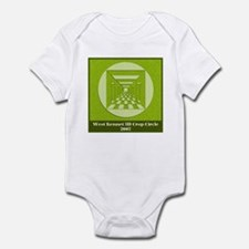 West Kennett 3d Crop Circle Infant Bodysuit