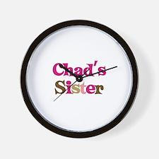 Chad's Sister Wall Clock