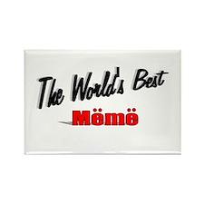 """""""The World's Best Meme"""" Rectangle Magnet"""