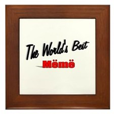 """""""The World's Best Meme"""" Framed Tile"""