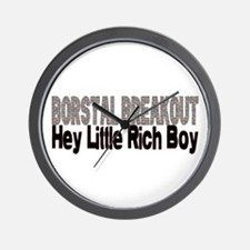 BORSTAL BREAKOUT hey little rich boy Wall Clock