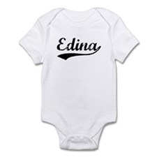 Vintage Edina (Black) Infant Bodysuit
