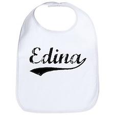 Vintage Edina (Black) Bib