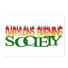 BABYLONS BURNING society Postcards (Package of 8)