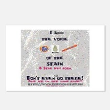 I Know The voice of the stain Postcards (Package o