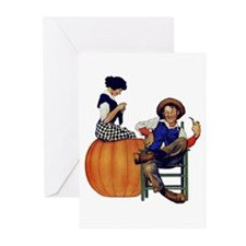 PETER PETER PUMPKIN EATE Greeting Cards (Pk of 10)