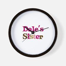 Dale's Sister Wall Clock