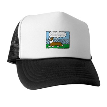 Conformation Corgi Cartoon Trucker Hat