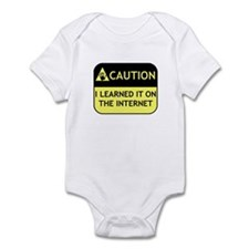 Learned it on the internet Infant Bodysuit