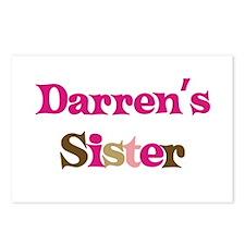 Darren's Sister Postcards (Package of 8)