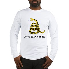 Don't Tread on Me Long Sleeve T-Shirt