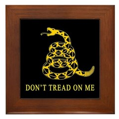 Don't Tread on Me Framed Tile