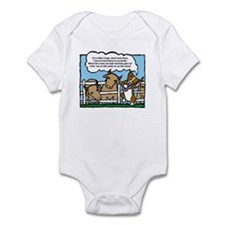 Herding Corgi Cartoon Infant Bodysuit