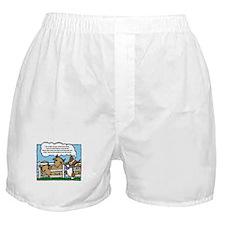 Herding Corgi Cartoon Boxer Shorts