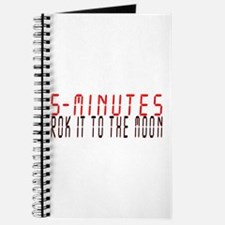 5 MINUTES rok it to the moon Journal