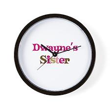 Dwayne's Sister Wall Clock