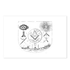 Cute Sheild Postcards (Package of 8)