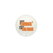 I Wear Orange For My Girlfriend 6 Mini Button (100