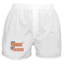I Wear Orange For My Girlfriend 6 Boxer Shorts