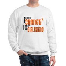 I Wear Orange For My Girlfriend 6 Sweatshirt