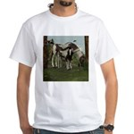 Painted Horse and Foal White T-Shirt