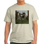 Painted Horse and Foal Light T-Shirt
