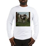 Painted Horse and Foal Long Sleeve T-Shirt