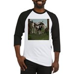 Painted Horse and Foal Baseball Jersey