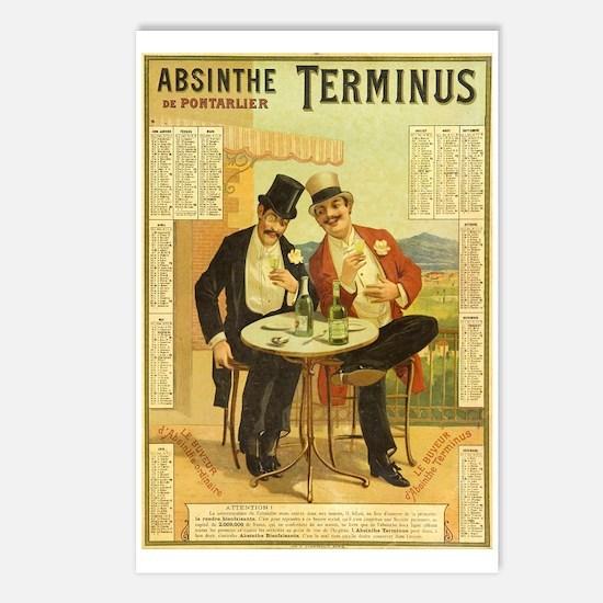 Absinthe Terminus Postcards (Package of 8)