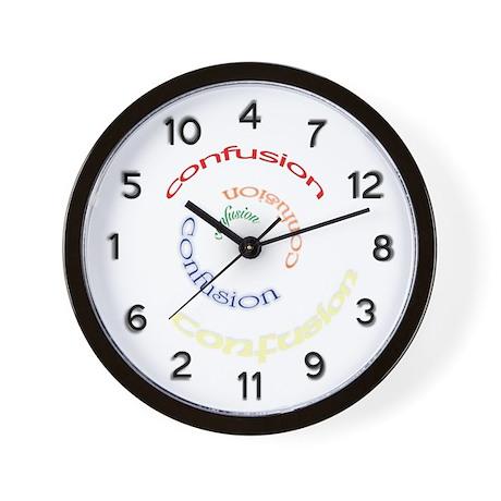 Confusion Clock
