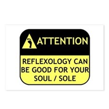 Reflexology Postcards (Package of 8)