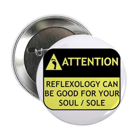 """Reflexology 2.25"""" Button"""
