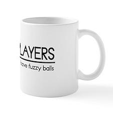 Tennis Player Joke Mug