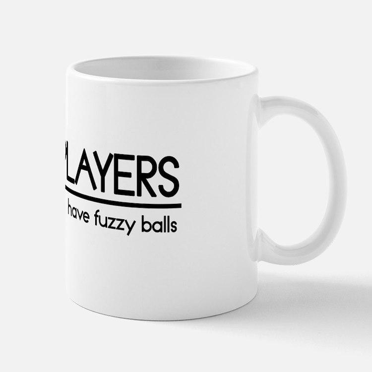 Tennis Player Joke Small Small Mug