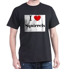 I Love Squirrels T-Shirt