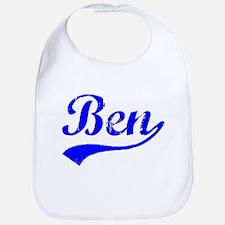 Vintage Ben (Blue) Bib