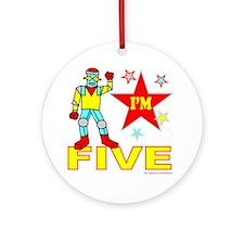 I'M FIVE Ornament (Round)