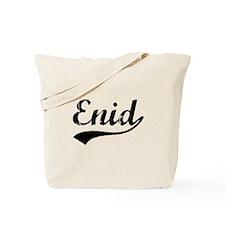 Vintage Enid (Black) Tote Bag