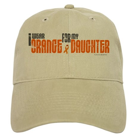 I Wear Orange For My Daughter 6 Cap