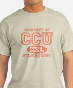 Property Of CCU Nurse T-Shirt