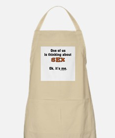 Thinking about sex... BBQ Apron